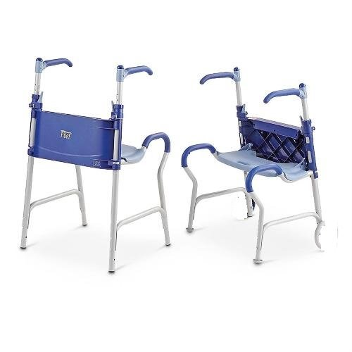 CLOSEOUT Pilot Junior Folding Seated Walker without wheels