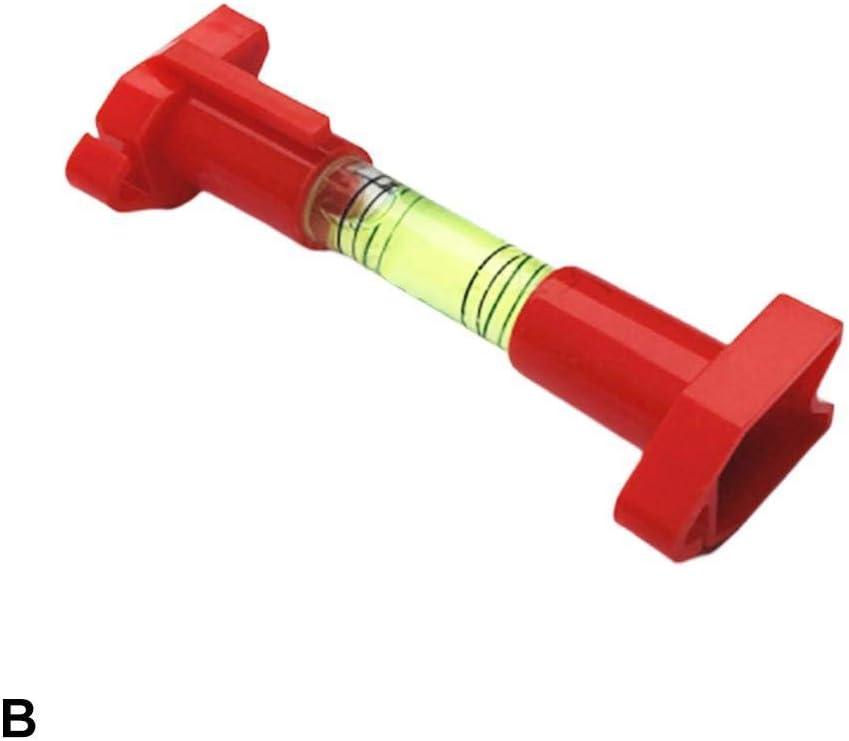 Tammy Yerkes 5pcs Lightweight Mini Hanging Bubble Level Plastic Pen Line Spirit Level for Building Trades Engineering