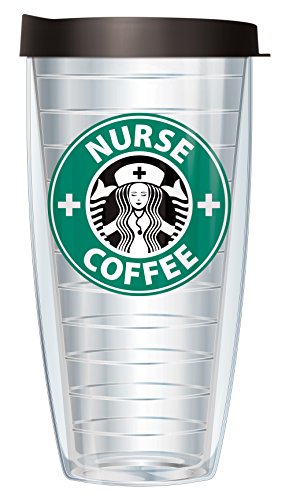 Nurse Coffee Parady 22oz Mug Tumbler Cup with Lid by Signature Tumblers