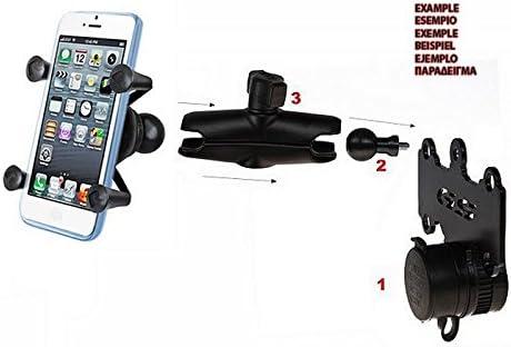 Support de Guidon Smarty pour Honda CBF 600 04-10//1000 06