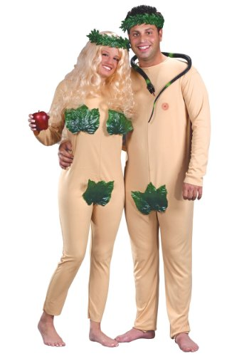 Adam And Eve Adult Costumes (Adam and Eve Costume X-Large)
