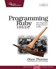 Ruby is the fastest growing and most exciting dynamic language out there. If you need to get working programs delivered fast, you should add Ruby to your toolbox. This book is the only complete reference for both Ruby 1.9 and Ruby 2.0,...