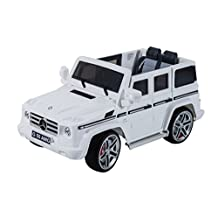 Aosom Electric Kids Ride On Toy Car w/ Remote Control 12V MP3 Outlet Mercedes Benz AMG G55 White