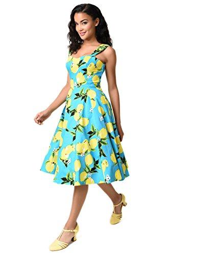 aqua swing dress - 8