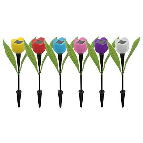 Tulip Shaped Garden Lights in US - 8