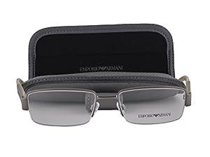 Emporio Armani EA 1001 Eyeglasses 52-17-135 Matte Gunmetal 3003 EA1001