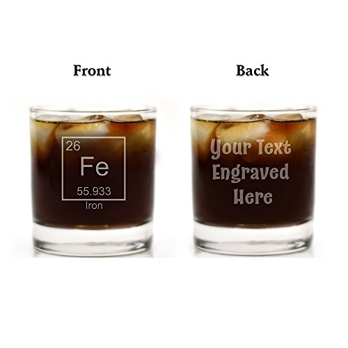 Periodic Table of Elements Glass