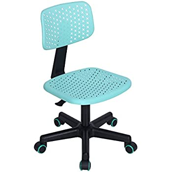 Merveilleux GreenForest Children Student Chair, Low Back Armless Adjustable Swivel  Ergonomic Home Office Student Computer