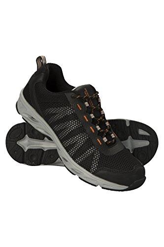 Mountain Warehouse River Mens Aqua Shoes - Neoprene Summer Swim Shoes Black DFBKo
