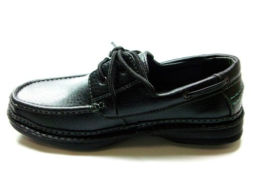 Zapatillas Cas-253 Casual Con Cordones Oxford Para Hombre En Color Negro