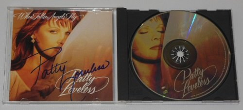 Patty Loveless When Fallen Angels Fly Signed Autographed Cd Compact Disc Loa