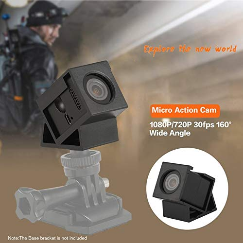 Wikiwand Hawkeye Firefly Micro Action Cam FPV Recording Camera for Racing Quadcopter by Wikiwand (Image #4)