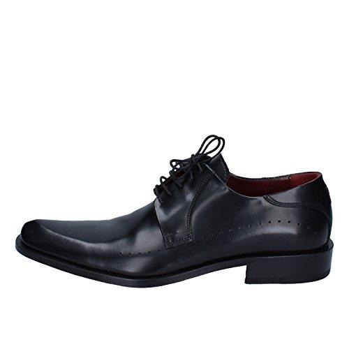 CARLO PIGNATELLI Oxfords Shoes Mens Leather Black 6 US
