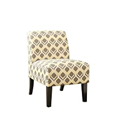 Farmhouse Accent Chairs ACME Ollano Accent Chair – 59440 – Pattern Fabric farmhouse accent chairs
