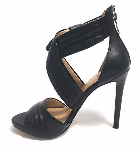 Sandalo Azali Vera pelle Guess Jeans FLAZL2LEA03 neri Negro