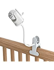 Baby Monitor Mount, Universal Baby Camera Holder Baby Camera Stand for Crib Nursery, Compatible with Infant Optics DXR-8 and DXR-8 PRO