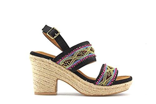 MODELISA Women's Fashion Sandals Black