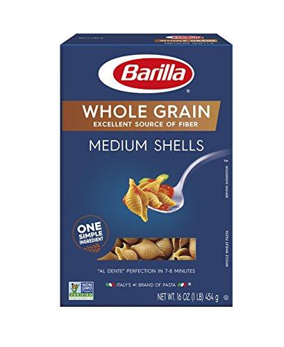 Barilla Whole Grain Pasta, Medium Shells, 16 Ounce