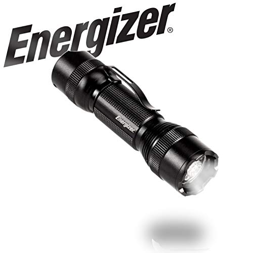 Energizer LED Tactical Handheld Flashlight TAC-700, Ultra Bright 700 High Lumens, 4 Modes, Durable Metal Body, Water Resistant