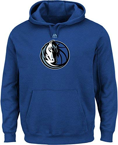 NBA Dallas Mavericks Men's Logo II Long Sleeve Fleece Pullover Hoodie Large Deep Royal [並行輸入品]   B07K1Y6FNN