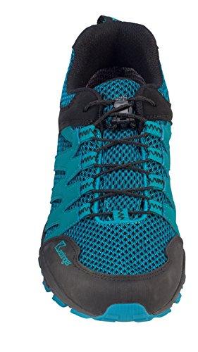 Leder Unisex Halbschuh Trailrunner Damen blue Wasserdichter Membran mit Schnellschnürung Herren black Schuhe und Kastinger K Tex Powertrail OqxEd6gHgw