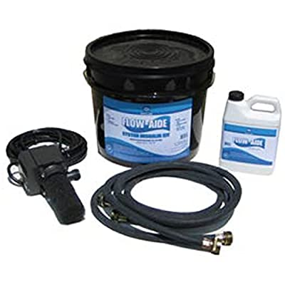 J.C. Whitlam FLOW-KIT Flow-Aide System Descaler Kit