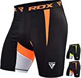 RDX MMA Thermal Compression Shorts Base Layer Boxing Training Fitness Running Exercise