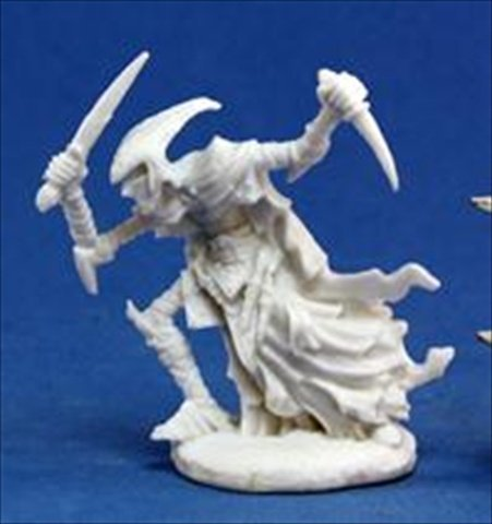 Reaper Miniatures 77123 Bones - Zalash, Dark Elf Assassin