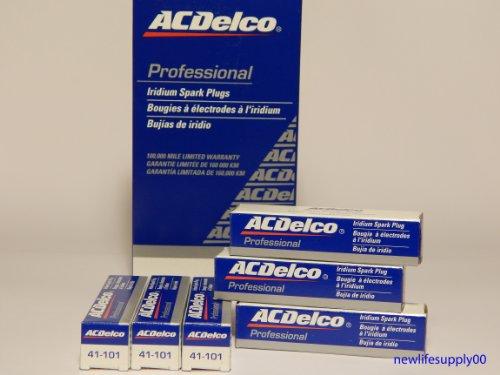 ACDelco # 41-101 Professional Iridium Spark Plug --- 6 Pcs * NEW *