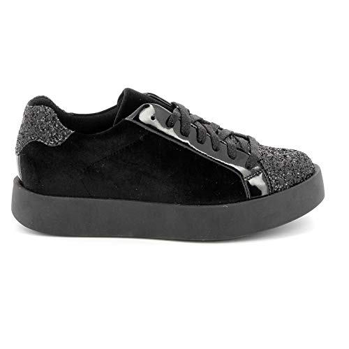 Donna Noir amp;scarpe By Alesya Sport Scarpe Sneakers x06w7XqA6R