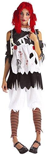Male Ragdoll Costume (Rubie's Costume Co Gothic Ragdoll Girl Adult Costume,)