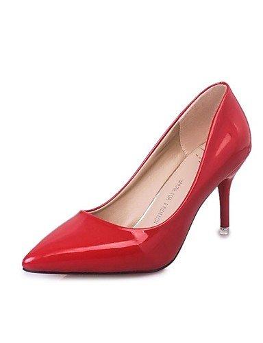 GGX/Damen Heels Fall Heels Patent Leder Casual Stiletto Heel andere schwarz/violett/rot/weiszlig; andere