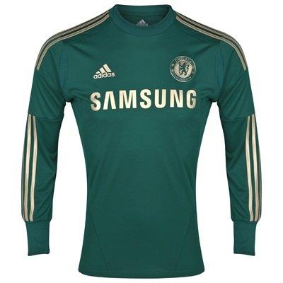 Chelsea Boys Home Goalkeeper Shirt 2012-13 - Chelsea Keeper Jersey