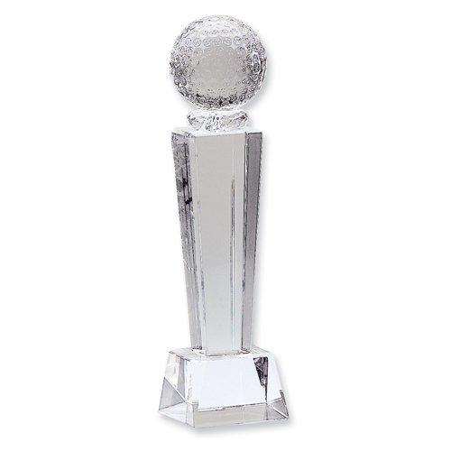 Award Etching - Crystal Golf Award - Etching Personalized Gift Item