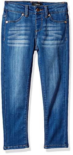 - DKNY Girls' Little Jean, Step up Again Jegging Indigo wash, 5
