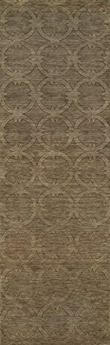 Momeni Rugs GRAMEGM-13SAG2680 Gramercy Collection, 100% Wool Hand Loomed Contemporary Area Rug, 2'6