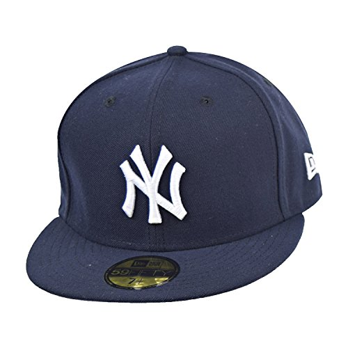 New Era Mens New York Yankees MLB Authentic Collection 59FIFTY Cap, Size 7 - Outlet Buffalo Ny