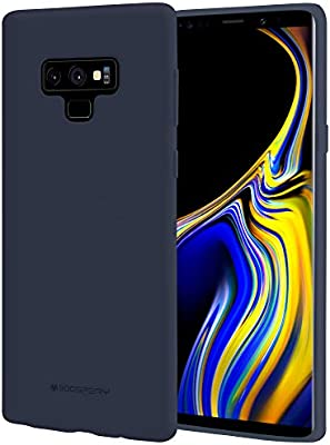 outlet store 14023 58bdb Galaxy Note 9 Case, [Silky] GOOSPERY [Slim Fit] Soft Feeling [Flexible]  Rubber TPU Case [Lightweight] Bumper Cover [Protection] for Samsung Galaxy  ...