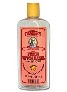 Peach Witch Hazel with Aloe Vera Formula Astringent plus Vitamin C-12 oz Brand: THAYERS