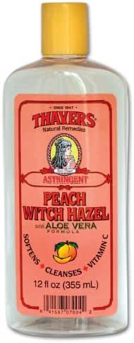 Peach Witch Hazel with Aloe Vera Formula Astringent plus Vitamin C-12 oz Brand: THAYERS