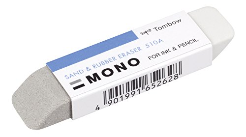 Tombow for Ink & Pencil Mono Sand Eraser - Adhesive Eraser