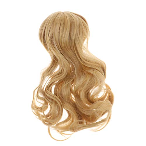 SM SunniMix 1/3 Scale BJD Doll Wave Long Wig for Super Dollfie Ball Joint Doll Wig Curly Hair -