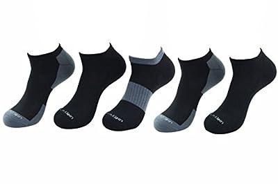 Calvin Klein Men's 5-Pairs Contrast Heel & Toe Athletic Low Cut Socks Sz: 7-12