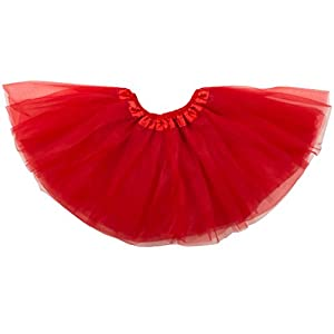 Dancina Classic Tutus for Girls Dress up Tulle Skirt Ages 2-7 & Big Girls 8-13