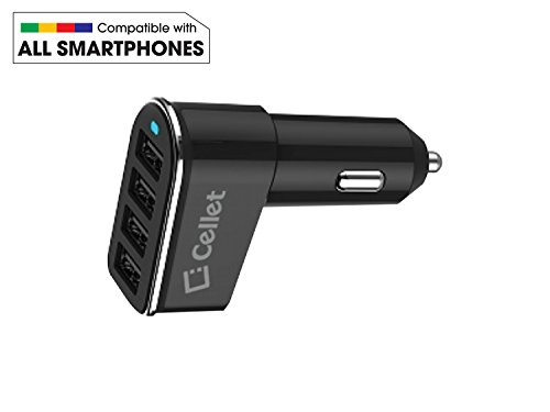 Universal 4 Port Charger Adapter Smart