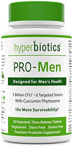 Hyperbiotics PRO Men Probiotics Phytosome Survivability product image