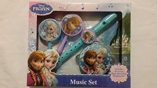 Disney Frozen Instrument Recorder Tambourine