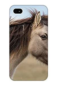 Iphone 4/4s USerEx-2440-Zyliq Animal Horse Tpu Silicone Gel Case Cover For Lovers