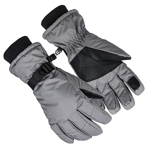 Snowboard Gloves, Waterproof Tou...