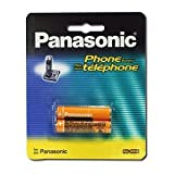Panasonic HHR4DPA 2 Batteries Pack for Panasonic 6.0 Telephone Accessories Batteries